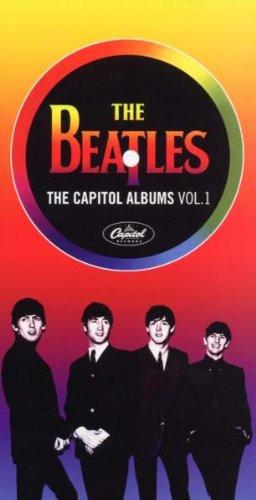 the beatles,kerstcadeau,cd box set,capitol albums,cd collectie,platenkast