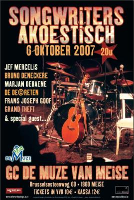 Songwriters Akoestisch