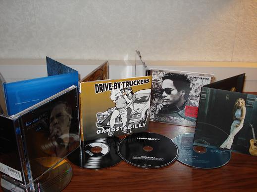 CD aankopen week 5 2008