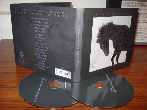 16 Horsepower - Live March 2001