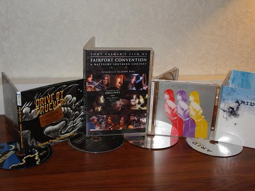 CD aankopen week 3 2008