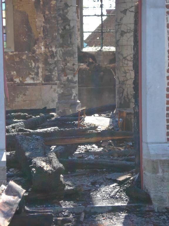 brand kerk galmaarden 07