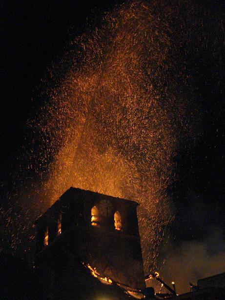 kerk in brand galmaarden 12
