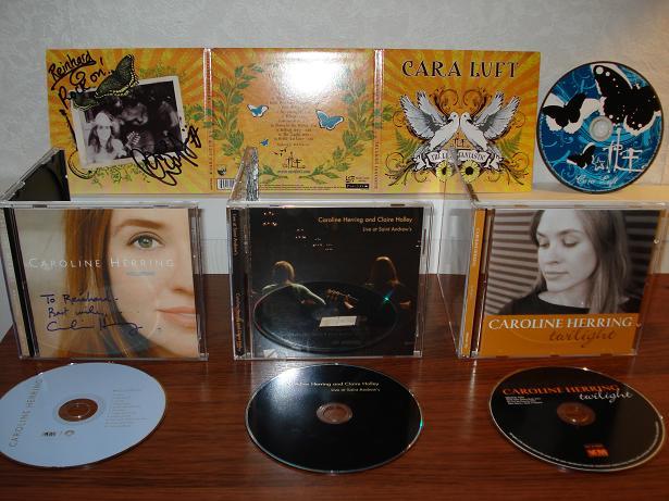 CD aankopen 6 juni 2008