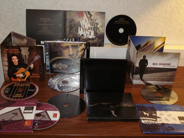 CD aankopen vrijdag 13 juni 2008