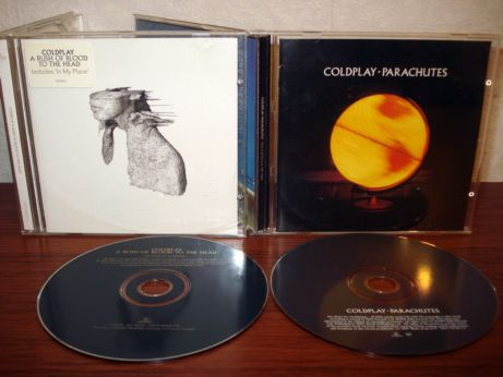 76 Coldplay - A rush of blood to the head & Parachutes