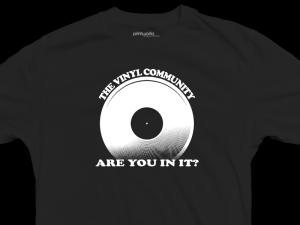 vinyl community, youtube