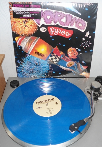 porno for pyros, rsd 2013, reissue, blue vinyl