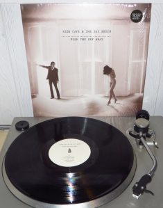 nick cave, lp, vinyl, push the sky away, 2013, cd