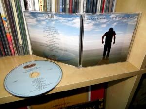 elton john, the diving board, cd, 2013