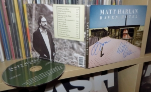 matt harlan, raven hotel, cd, 2014